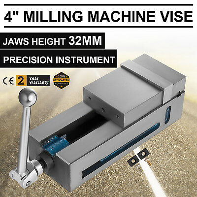 """4"""" Super-Lock Precision CNC Vise Milling Clamping Stable Vertical Chiseling"""
