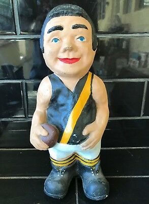 RICHMOND TIGERS FOOTBALL CLUB Vintage Mascot Garden Statue VFL AFL
