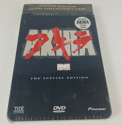 Brand NEW AKIRA 2-Disc DVD THE SPECIAL EDITION STEELBOOK Collector's Case - SEAL