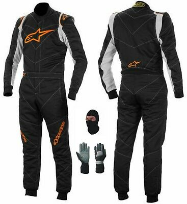New kart suit CIK/FIA Level 2 with gloves, balaclava .