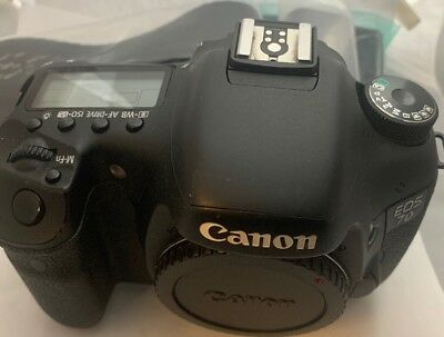 Used Canon EOS 7D 18.0MP Digital SLR Camera (Body Only). Low shutter count.