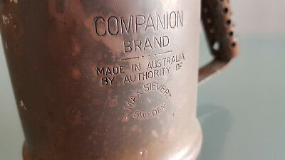 Vintage Blow Torch By Companion. Needs A Clean, Nice One..
