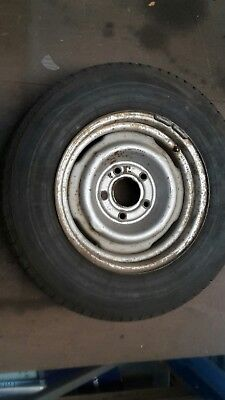Holden HQ-HJ-HX-HZ spare wheel with tyre