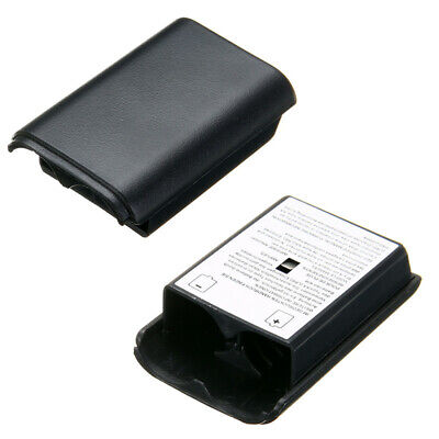 AA Battery Back Cover Holder Shell Case For XBOX 360 Wireless Control Black Kit