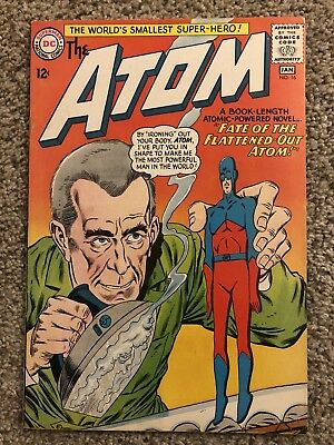 THE ATOM #16  VF+ NICE PAGES! High Grade