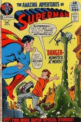 Superman (Vol 1) # 246 (VryFn Minus-) (VFN-) DC Comics AMERICAN