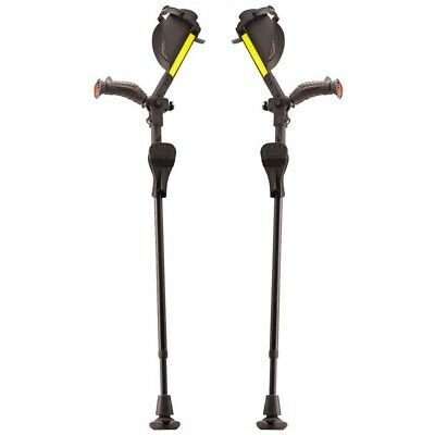 Ergobaum Forearm Crutches - Pair (2) Units