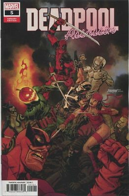 Deadpool Assassin #5 Death Weasel Variant Marvel Comics1st Print 2018