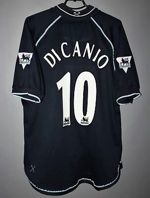 f2123064e6f West Ham United 1999 2000 2001 Third Football Shirt Jersey #10 Di Canio Fila