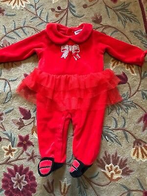 61f73e75c6e0 Absorba Baby Outfit Romper Pajama Tutu Red Size 6-9 Months Euc Girl One  Piece