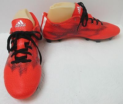new style e95d8 46785 Men s Adidas F5 FG Solar Red Ghost Black Soccer Cleats B34862 Sz ...
