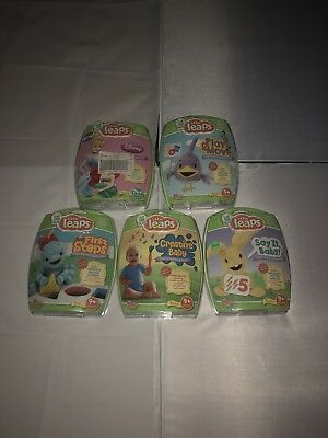 Lot Of 5 Leap Frog Baby Little Leaps Interactive DVDs