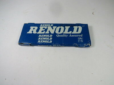 Renold 129033 35RIV 1/4in Pitch 10FT Roller Chain ! NEW !