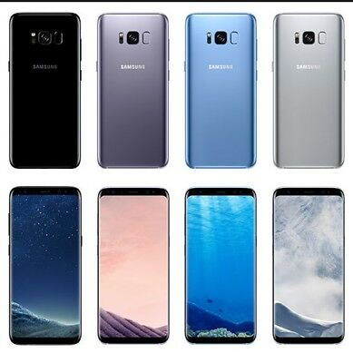 Samsung Galaxy S8 G950U Verizon TracFone Straight Talk Total Wireless Unlocked