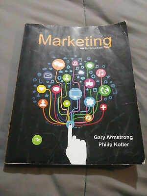 Marketing: An Introduction 13th Edition Armstrong (paperback)