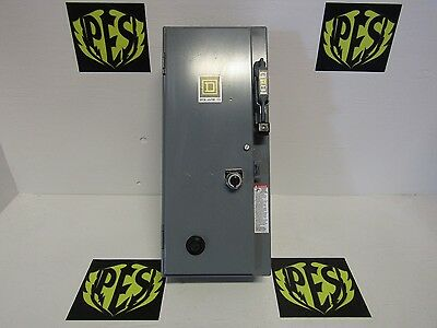 New Square D 8538Sbg11V84Cff4T Size 0 3 Phase Combination Starter N1 120V Coil