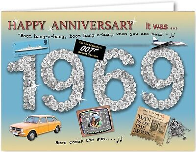 Celebrations & Occasions 2019 40th Anniversary Card souvenir of 1979 Home, Furniture & DIY