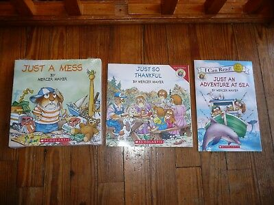 NEW lot of 12 LITTLE CRITTER Mercer Mayer picture books EARLY READERS JUST A ...