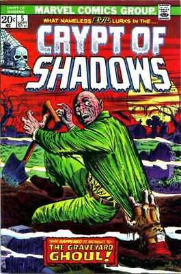 Crypt of Shadows (1973 series) #5 in VF minus condition. Marvel comics [*is]