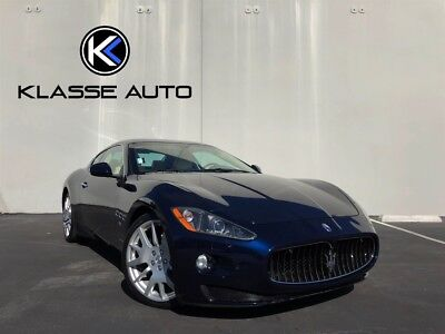 2009 Gran Turismo  2009 Maserati Gran Turismo Coupe Only 21K Miles CA Car Suede Headliner Must See