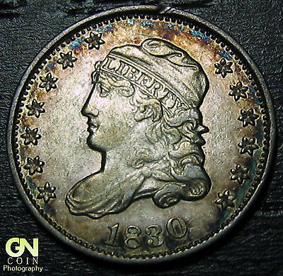 1830 Capped Bust Half Dime R4 V10 LM1.2  --  MAKE US AN OFFER!  #O5694