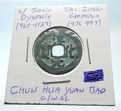 976AD CHINESE Northern Song Dynasty Antique TAI ZONG Cash Coin of CHINA i75364