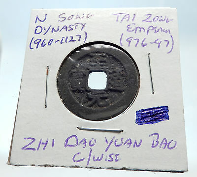 976AD CHINESE Northern Song Dynasty Antique TAI ZONG Cash Coin of CHINA i75367