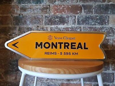 Veuve Clicquot Arrow Tin - Montreal