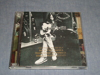 Neil Young Greatest Hits promo cd + dvd