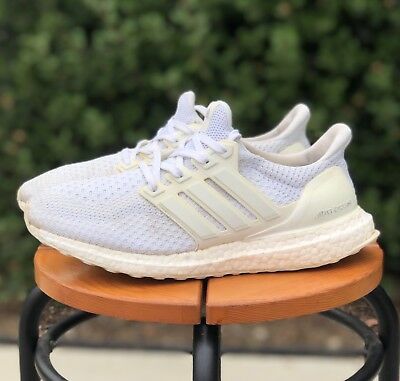6e6ce756cd1b0 ADIDAS ULTRA BOOST 2.0 Triple White Women s Size 8.5   Men s Size ...