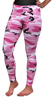 Femmes Camouflage Rose Militaire Camouflage Élasthanne Legging Rothco 3188 ffd9f28a8ce