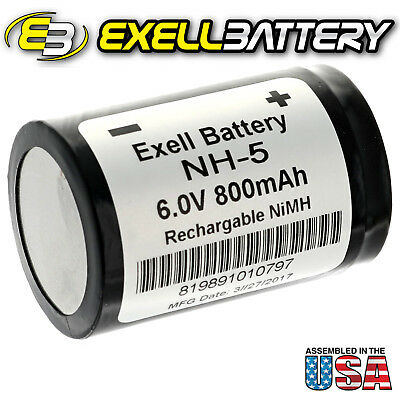 Exell NH5 6V Rechargeable Battery for Hasselblad 500 EL 5/600DKZ 5/V500RH 85448