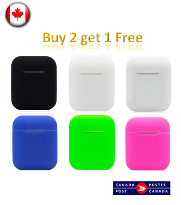 Apple Airpods Case Cover Silicone Protective Skin For Apple Airpod Charging Case