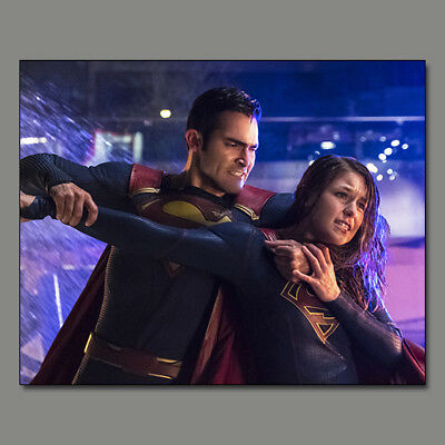 Melissa Benoist Supergirl Tyler Hoechlin New!! 8X10 Photo Wf23