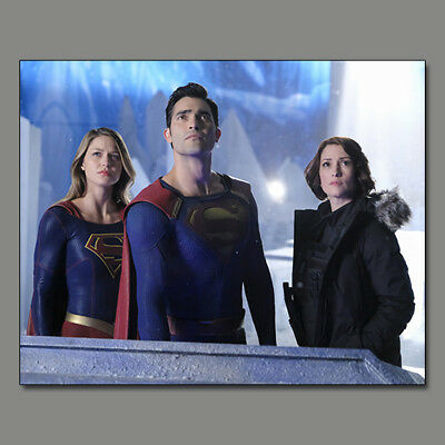 Melissa Benoist Supergirl Tyler Hoechlin New!! 8X10 Photo Wf28