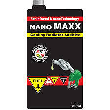 NANO MAXX coolant 30ML CON IMPROVES ENGINE POWER BY LOWERING TEMP EXTRA COOLING!
