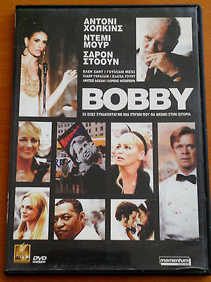 BOBBY  DVD PAL FORMAT REGION 2  Anthony Hopkins, Demi Moore