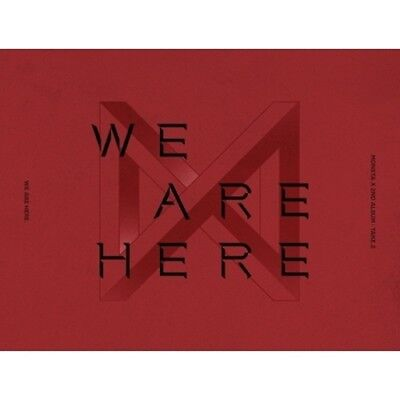 Monsta X-[Take.2 We Are Here] 2nd Album Ver.I CD+Poster+Book+Polaroid+Card+Gift