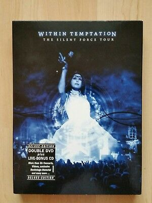 Within Temptation The Silent Force Tour Deluxe Edition 2 DVD's + 1CD