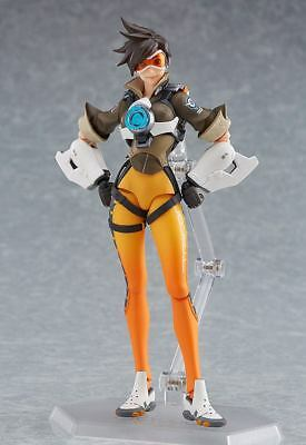 Overwatch 352 Tracer Figurine D'Action Figma Good Smile Company ca.14cm Neuf (L)