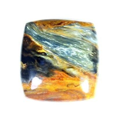 24.50Cts 100% Natural Designer Super Pietersite Cushion Cabochon Loose Gemstone