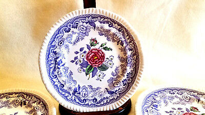 Spode Copeland Mayflower Set of 7 Bread & Butter Plates approx 6.5""