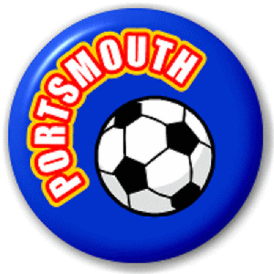 Portsmouth Football – 25 Mm Pin Button Badge