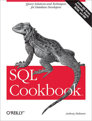 SQL Cookbook, [P.D.F] Book by O'Reilly - Query Solutions and Techniques