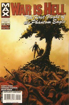 War is Hell: 1st Flight of the Phantom Eagle #   5 Near Mint (NM) MODN AGE