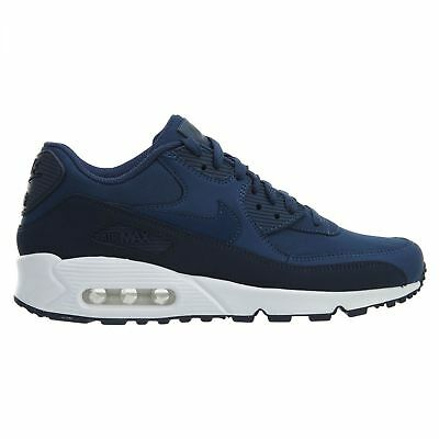 finest selection e8caf 263dc Nike Air Max 90 Essential Mens 537384-427 Obsidian Navy Running Shoes Size  8.5