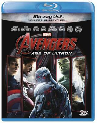 Blu-Ray Avengers - Age Of Ultron (3D) (Blu-Ray+Blu-Ray 3D)
