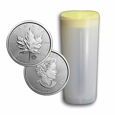 2019 RC Silver Maple 1 oz Coin | Lot of 25