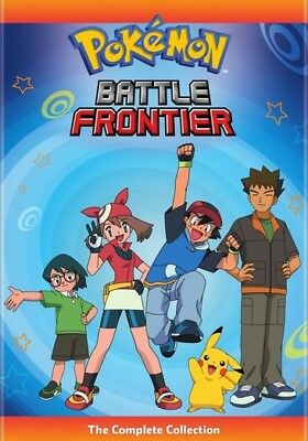 Pokemon Battle Frontier: The Complete Collection (DVD,2019)