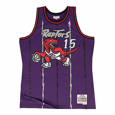 d4c33f24 TORONTO RAPTORS VINCE Carter Mitchell and Ness White Swingman Jersey ...
